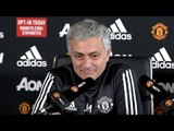 Jose Mourinho Full Pre-Match Press Conference - Manchester United v Liverpool - Premier League