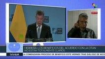 Herrera: Beneficios del acuerdo de Colombia con OTAN no están claros