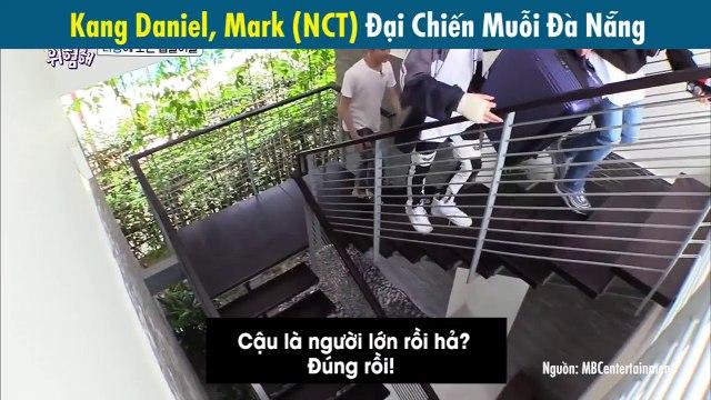 Khoảnh khắc hài hước: Kang Daniel, Mark (NCT) khóc thét bỏ chạ vì bị muỗi Đà Nẵng tấn công