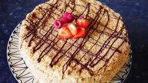 Russian Napoleon Cake Recipe   Napoleon Torte   Торт Наполеон Рецепт