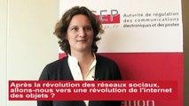 """"""" Les objets connectés, une révolution naturelle, celle de l'internet de demain """" Interview d'Anne-Sophie BORDRY, Fondatrice du Think Tank Objets connectés (2 novembre 2015)"""