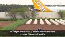 A Tokyo, le combat d'irréductibles fermiers contre l'aéroport