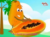 Fruit Rhymes - Papaya (English) for kids by Jingle Toons Nursary Rhymes Series (Animation)