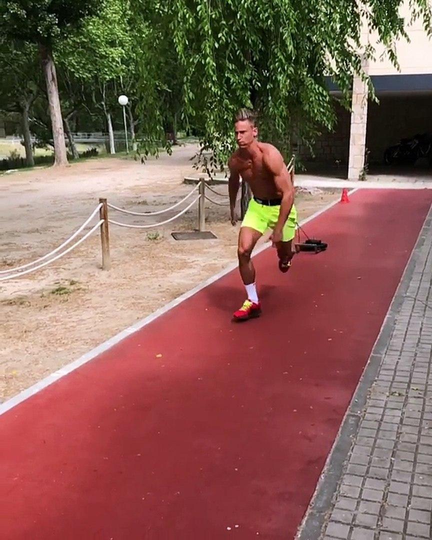 Marcos Llorente muestra su espectacular forma física a cámara lenta