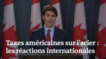 Taxes américaines : de Merkel à Trudeau, les leaders internationaux sont très critiques