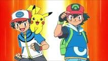Pokemon Sun and Moon  Kalos Ash and Sinnoh Ash Vs Unova Ash and Hoenn Ash