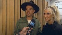 Ashlee Simpson & Evan Ross Talk Unisex Clothing Line