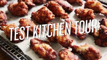 An Organizational Tour of the SAVEUR Test Kitchen