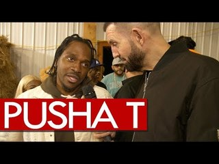 Pusha T on Drake Beef says he's on Daytona right now 'figure out the rest'