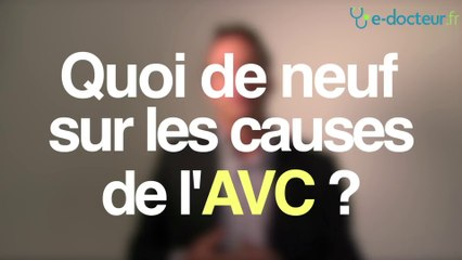 AVC sans cause connue :  prévenir la récidive