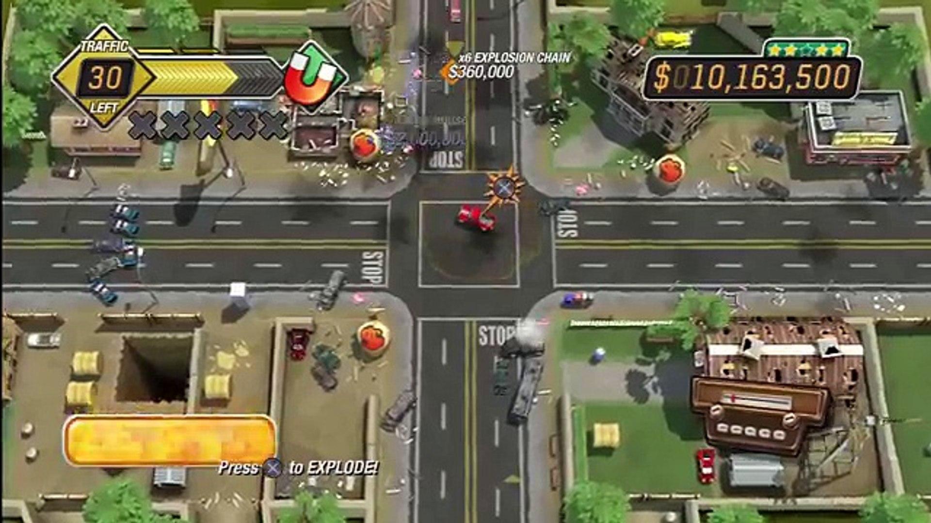 Burnout Crash (PS3) Gameplay