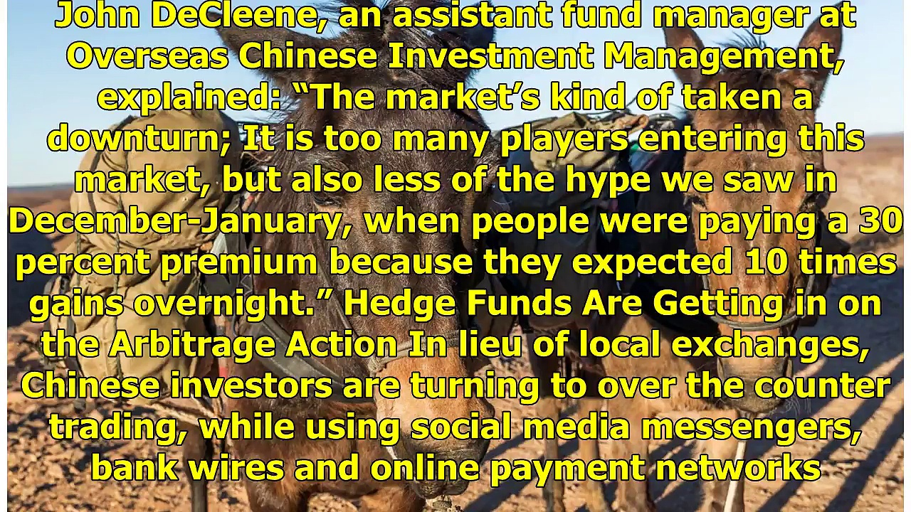 Bitcoin Mules Flood China as OTC Cryptocurrency Trading Flourishes – Bitcoin News