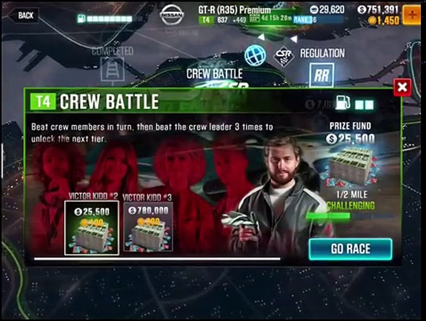 CSR 2: HOW TO BEAT THE TIER 4 BOSS! VICTOR KIDD