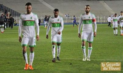 Amical : Résumé complet du match, Algérie 2-3 Cap Vert