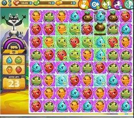 Farm Heroes Saga Level 173 - No magic bean - Rancid defeated
