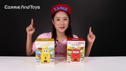 캐리의 헬로 옐로우 레드 라바 장난감 스마트 로봇 놀이 CarrieAndToys