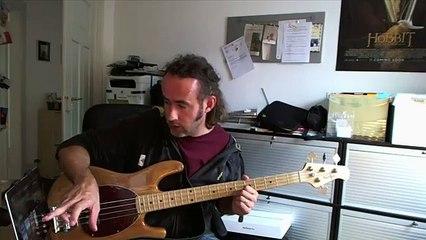 iPad Bass Guitar Equipment Setup