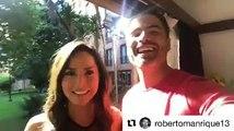 Que mejor que empezar la semana dando gracias ah??? Te adoro mi Robert! Gracias por la invitación#Repost @robertomanrique13・・・Y cerramos este #LunesDeGratitu