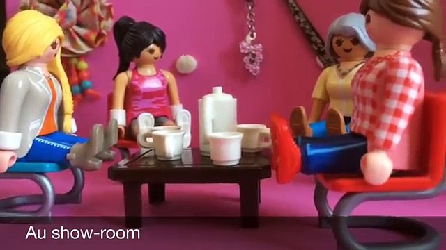 Les reines du shopping version playmobil