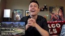 Monster Hunter World LIVE REACTION   MONSTER HUNTER WORLD Gameplay Trailer Reion (PS4 E3 2017)