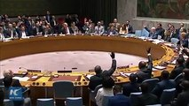 The United States on Friday vetoed a Kuwaiti-drafted United Nations Security Council resolution that would have asked for measures to protect Palestinians.