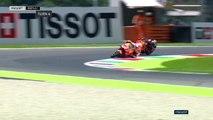 crash Marc Marquez mugello 2018 FP1 FP2