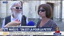 """Funérailles de Maëlys: """"On est là pour la petite"""", confient les parents d'Arthur Noyer"""