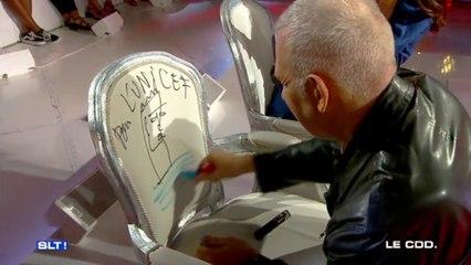 Un fauteuil Les Terriens signé par Jean-Paul Gaultier aux enchères pour l'UNICEF