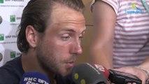 """Roland-Garros 2018 - Lucas Pouille : """"Continuer à apprendre à mieux gérer"""""""