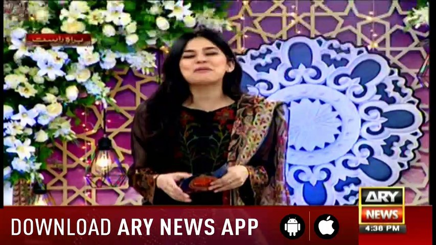 Shan-e-Iftar 2nd June 2018 with Sanam Baloch