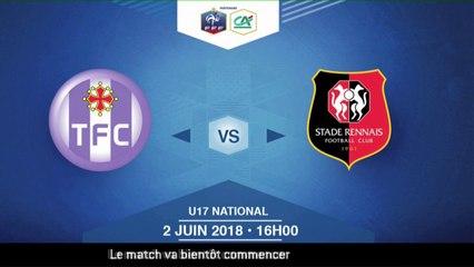 Finale U17 National I Toulouse FC / Stade Rennais FC - Samedi 2 Juin à 16h00 (6)