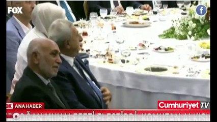 Erdoğan, İnce'yi eleştirdi Saray'ın komutanı alkışladı
