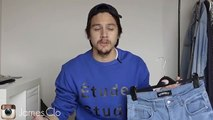 Affordable, Tapered, Distressed Denim Jeans    Summit Clothing    Mens Fashion OOTD