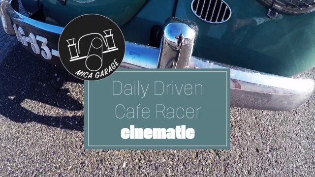 VW BEETLE 1963 - CAFE RACER - INTRO 2 - DAILY DRIVEN RACER - THE BEGINNING...