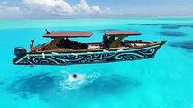 The only Polynesian canoe entirely carved in Bora Bora's  ☀58 seconds of pleasure with this video from : Alexandra Travel  Excursion organized by : Tamatoa e