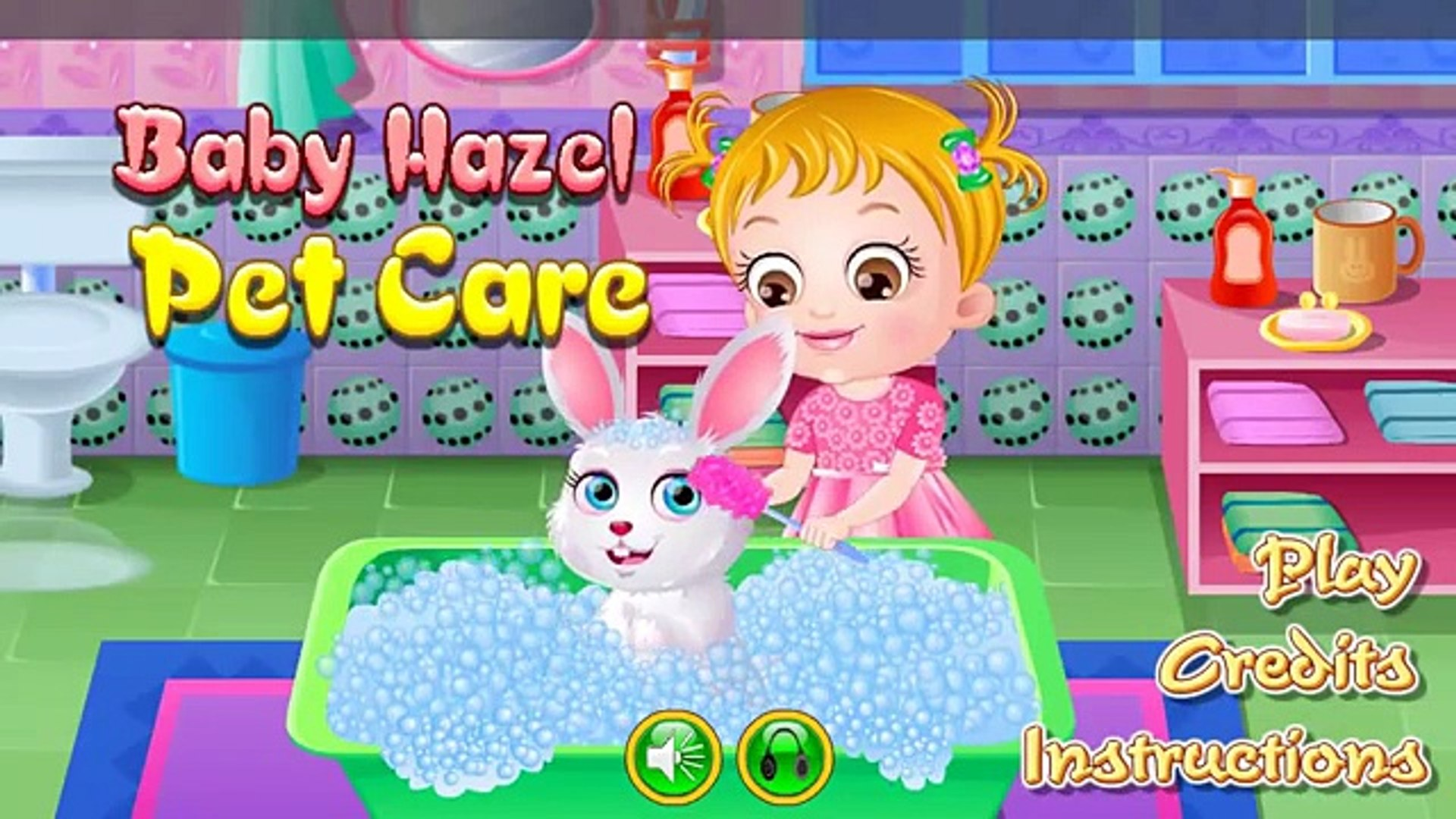 Baby Hazel Pet Care - Baby Hazel game - Baby Hazel for Babies & Kids - Top Baby Games