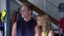 Hunter says goodbye to his biological father, Wally - Home and Away