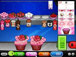 Papas Cupcakeria All Valentine Toppings Unlocked (Rank 8, Day 12)