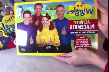 Wiggles Drum Set, Activity Placemats, and Big Red Car Keys unboxing!