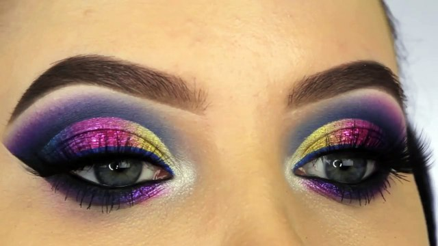 Dramatic Cut Crease Tutorial Eyes Makeup