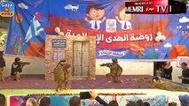 Des images troublantes d'enfants de l'école maternelle de Gaza se déguisant en jihadistes et prenant d'assaut un bâtiment israélien