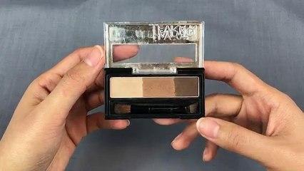初学者新手画眉毛教程:画自然眉和清晰眉以及使用不同眉毛化妆产品
