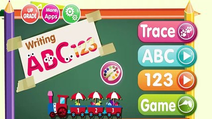 Learn Alphabet a to z App for Kids - ABC 123 Writing Coloring Book