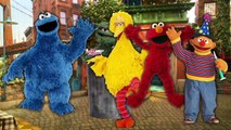 Finger Family Song SESAME STREET Nursery Rhymes Cookie Monster Big Bird Elmo Ernie Cookie Tv Video