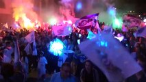 Veysel Eroğlu - Basketbol Süper Ligi'ne yükselen Afyon Belediyespor için kutlama - AFYONKARAHİSAR