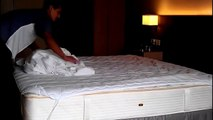 Professional Bed Making In Housekeeping / Step by Step Procedure