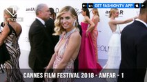 Nicole Scherzinger at the amfAR Gala at Cannes Film Festival 2018   FashionTV   FTV