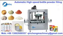 automatic high speed rotary powder filling machine