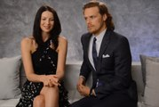 Outlander - Sam Heughan & Caitriona Balfe TV Guide Interview [Sub Ita]