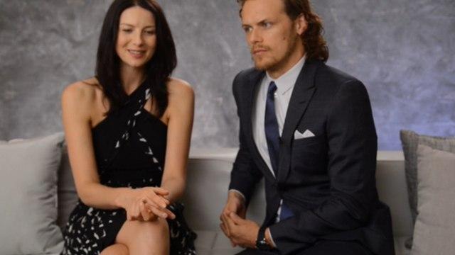 Outlander - Sam Heughan & Caitriona Balfe TV Guide Interview [Sub Ita]